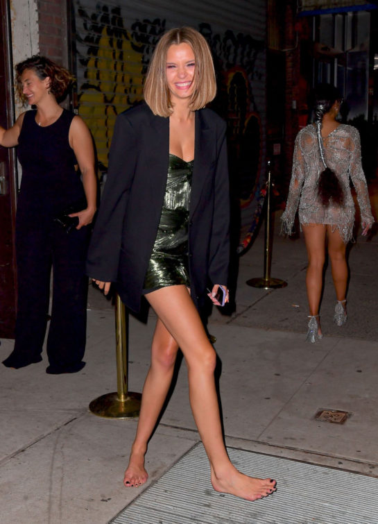 Josephine Skriver at Met Gala After-party in New York