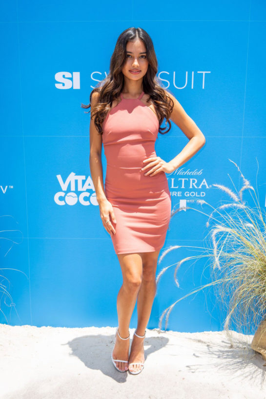 Kelsey Merritt At Sports Illustrated Swimsuit On Location Day 2 at Ice Palace in Miami