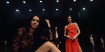 Kendall Jenner for Calvin Klein New Commercial, May 2019