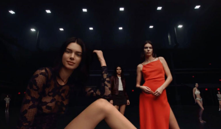 Celebrity Photoshoot – Kendall Jenner for Calvin Klein New Commercial, May 2019