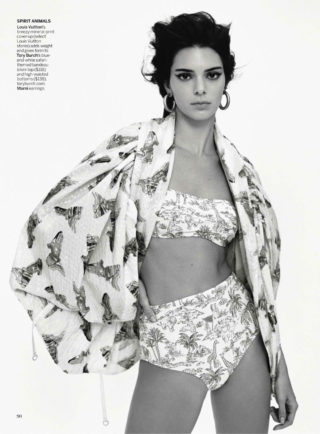 Kendall Jenner in Vogue US Magazine, June 2019