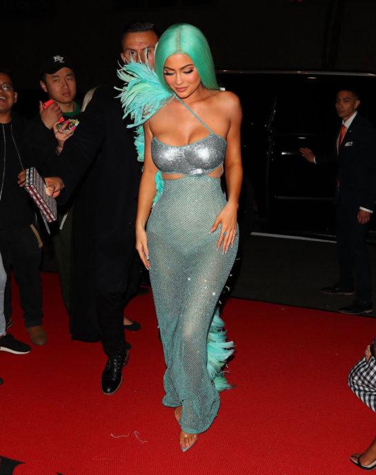 Kylie Jenner Leaving 2019 Met Gala in New York