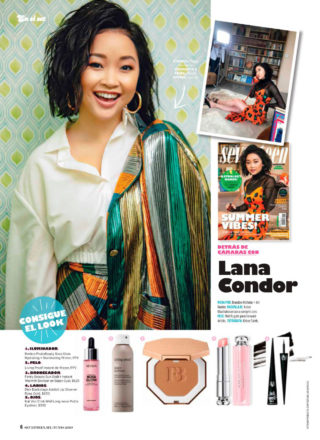 Lana Condor in Seventeen Magazine, Mexico June 2019