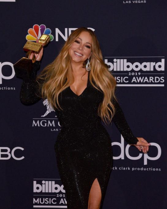 Mariah Carey at 2019 Billboard Music Awards in Las Vegas