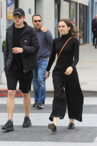 Maude Apatow Out Shopping in Beverly Hills