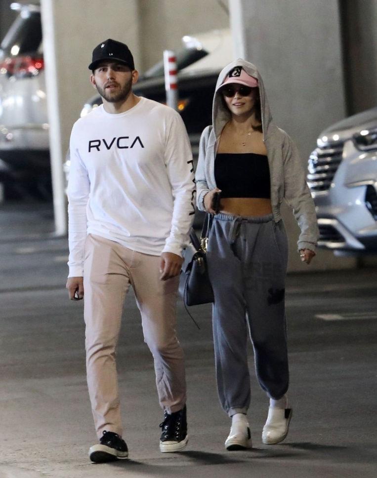 Olivia Jade and Jackson Guthy Shopping at Ikea in Burbank
