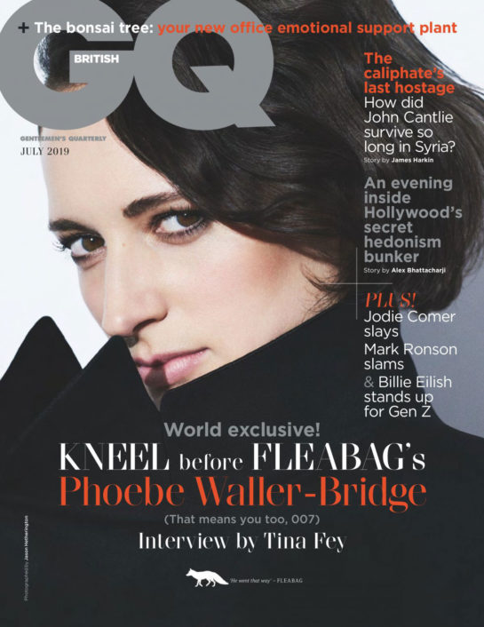 Phoebe Waller-Bridge in GQ Magazine, UK July 2019