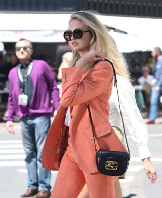 Romee Strijd Out and About in Cannes