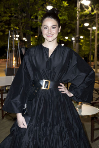 Shailene Woodley at Dior and Vogue Paris Dinner in Cannes