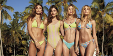 Victorias' Secret Models for VS 2019 Swim Collection