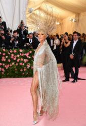 Celine Dion at 2019 Met Gala in New York