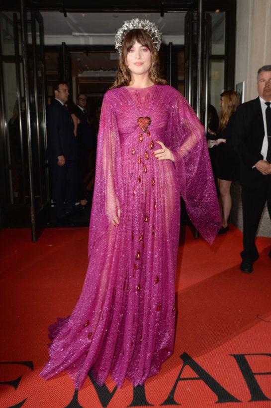 Dakota Johnson Leaving Mark Hotel in New York