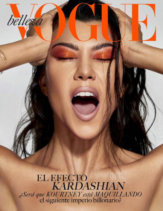 Kourtney Kardashian for Vogue Belleza Mexico Spring 2019