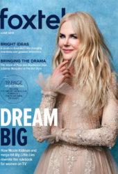 Nicole Kidman in Foxtel Magazine, June 2019