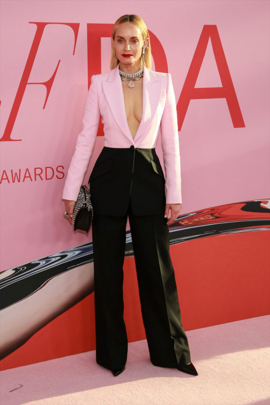 Amber Valletta at CFDA Fashion Awards in New York