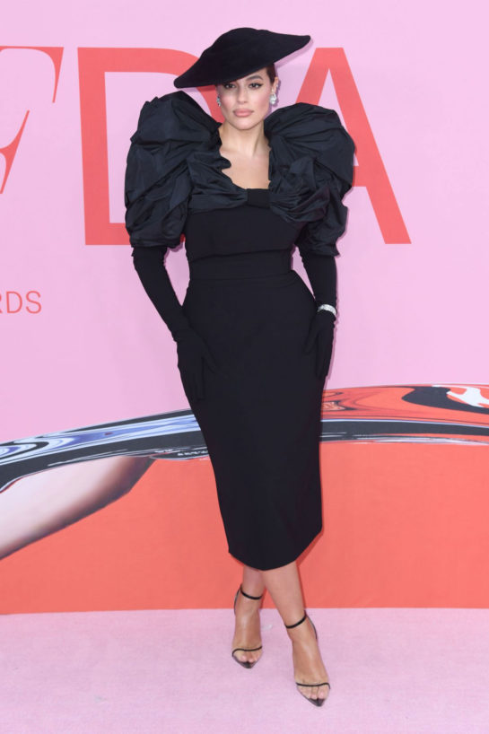 Ashley Graham at CFDA Fashion Awards in New York
