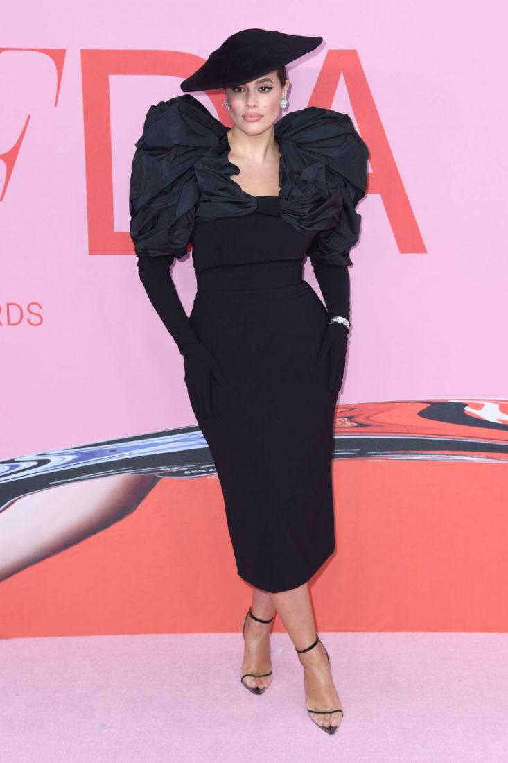 Ashley Graham at CFDA Fashion Awards in New York