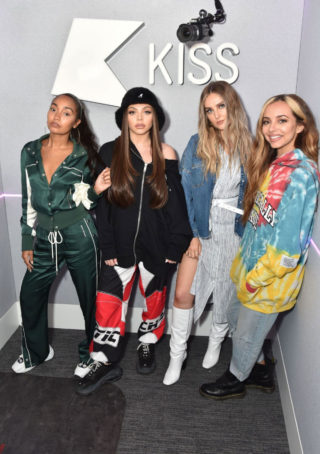 Celebrity Photoshoot - Little Mix at Kiss FM Studios in London