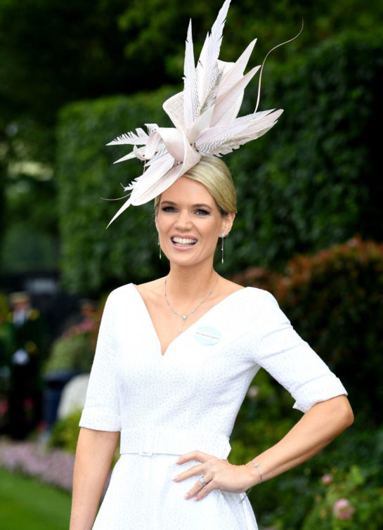 Charlotte Hawkins Royal Ascot at Ascot Racecourse