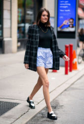 Charlotte Lawrence Out and About in New York