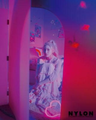 Chungha for Nylon Magazine, Korea July 2019