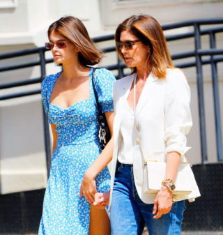 Cindy Crawford and Kaia Gerber Out Shopping in New York
