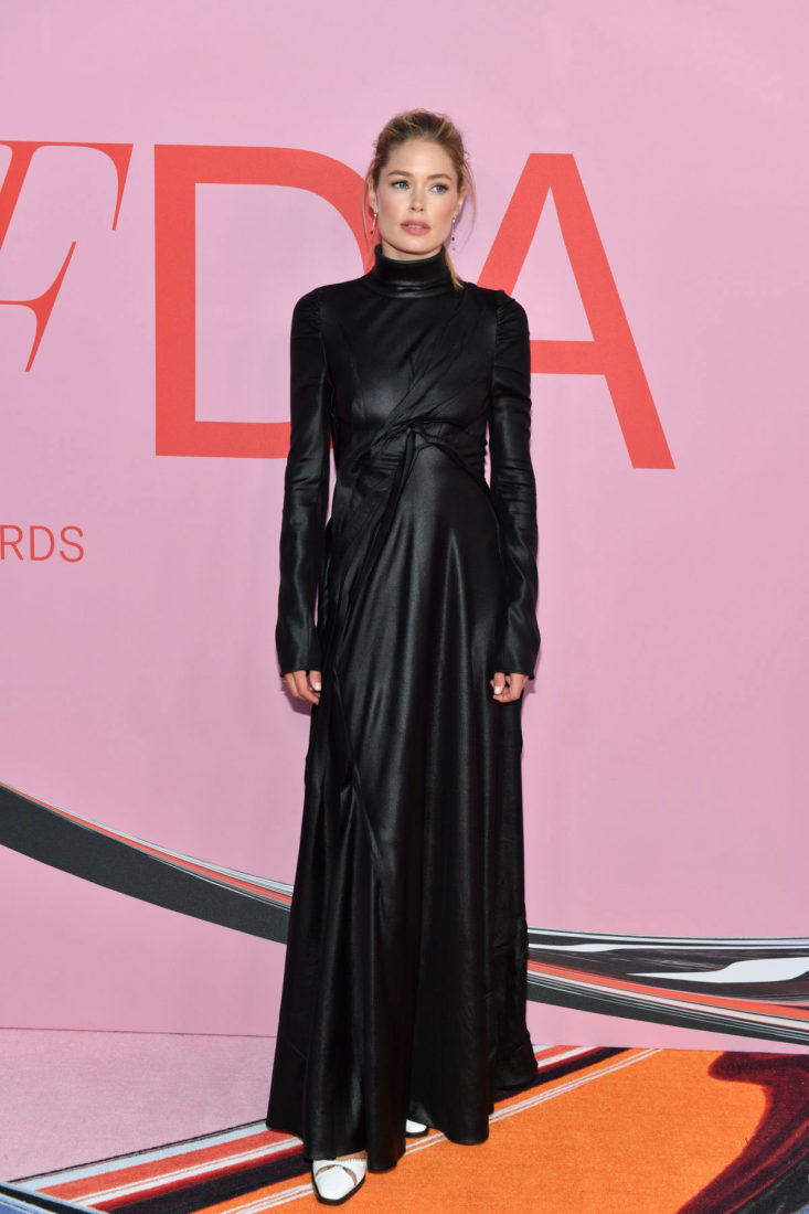 Doutzen Kroes at CFDA Fashion Awards in New York