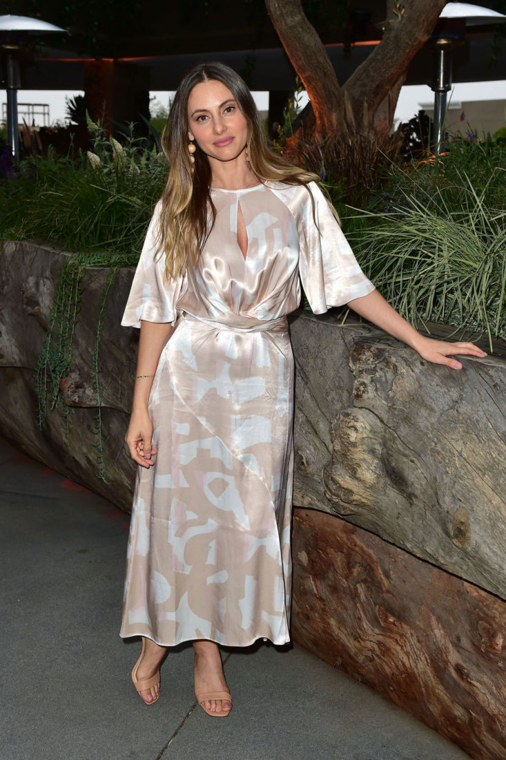 Elizabeth Di Prinzio at 1 Hotel West Hollywood Preview Dinner in West Hollywood