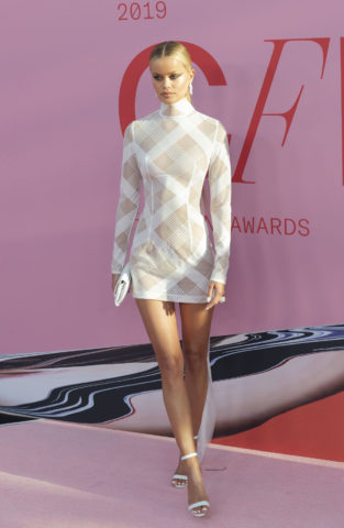 Frida Aasen at CFDA Fashion Awards in New York