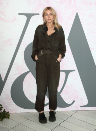 Immy Waterhouse at V&A Summer Party in London