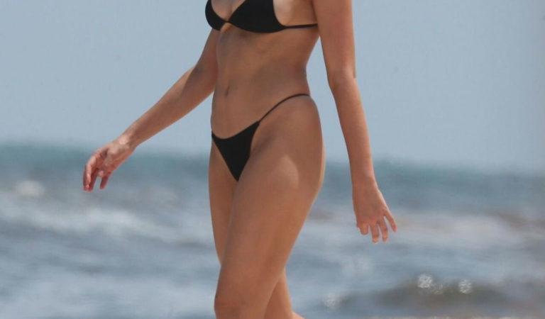 Celebrity Bikini – Kara Del Toro in Bikini at a Beach in Tulum