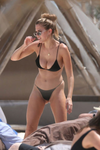 Kara Del Toro in Bikini at a Beach in Tulum