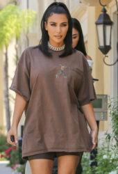 Kim Kardashian Leaves a meeting in Calabasas
