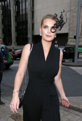 Kitty Spencer at Cash and Rocket Masquerade Ball in London