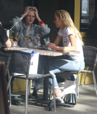 Kristen Stewart and Stella Maxwell Out in New York