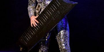 Lady Gaga Performs at SiriusXM + Pandora Present Lady Gaga at The Apollo in New York