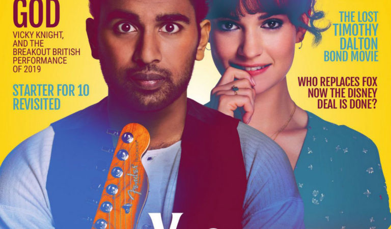 Magazine Covers – Lily James and Himesh Patel in Film Stories Magazine, June 2019