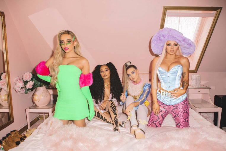 """Little Mix """"Bounce Back"""" Music Video Stills"""