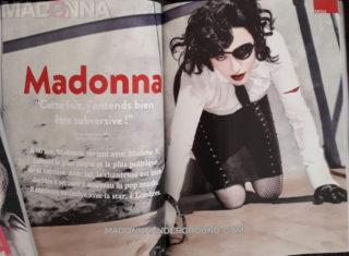 Madonna in Tetu Magazine, Summer 2019