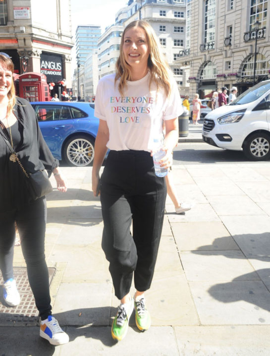 Maria Sharapova Out in London