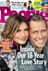 Mariska Hargitay in People Magazine, June 2019