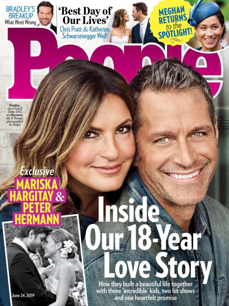 Mariska Hargitay in People Magazine, June 2019