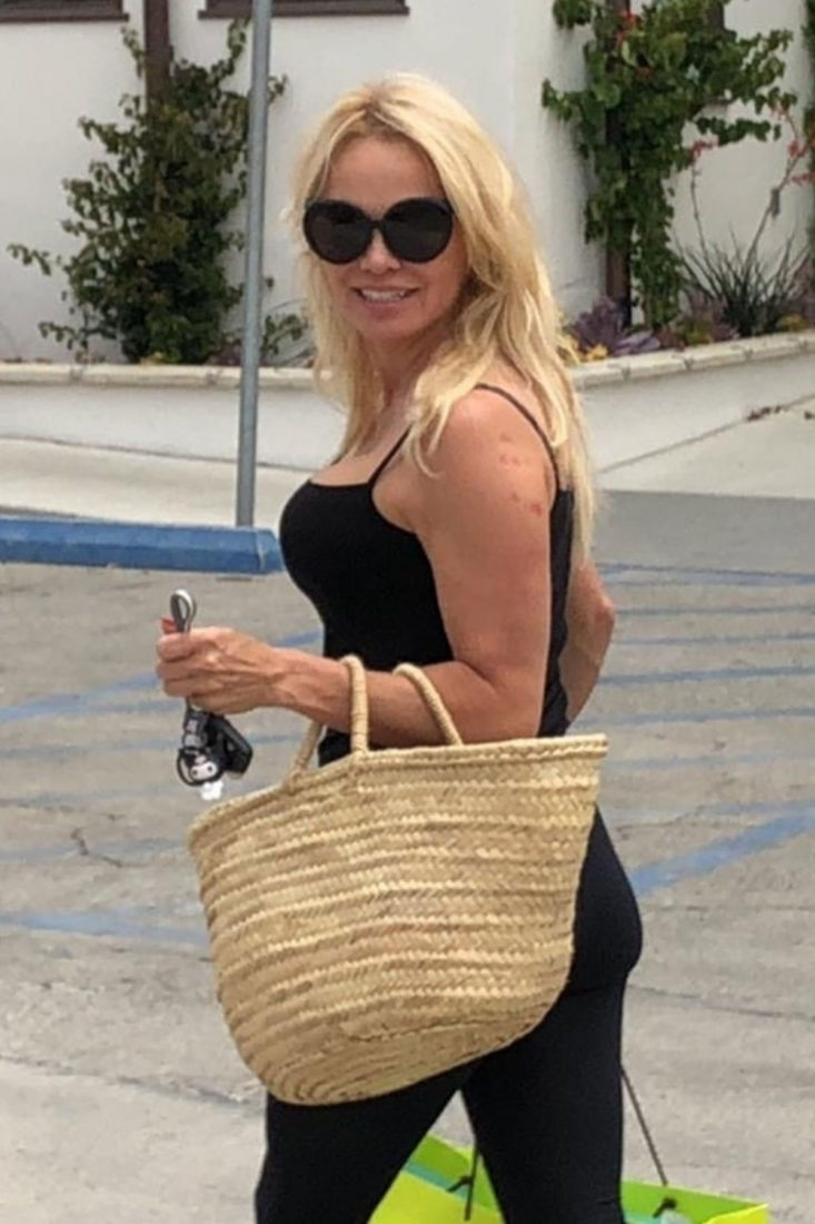 Pamela Anderson Out Shopping in Los Angeles