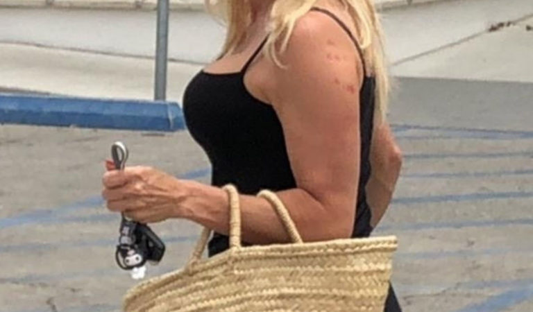 Celebrity Shopping – Pamela Anderson Out Shopping in Los Angeles