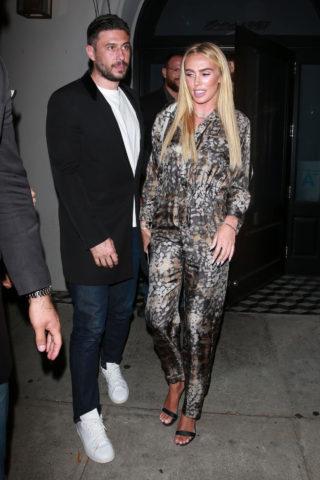 Petra Ecclestone and Sam Palmer at Craig's in West Hollywood