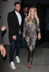 Petra Ecclestone and Sam Palmer at Craig's in West Hollywood