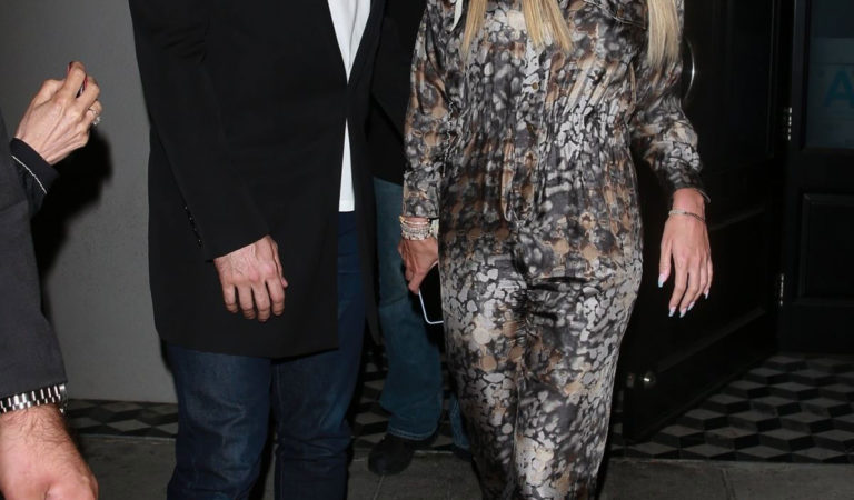 Celebrity Night Out – Petra Ecclestone and Sam Palmer at Craig's in West Hollywood