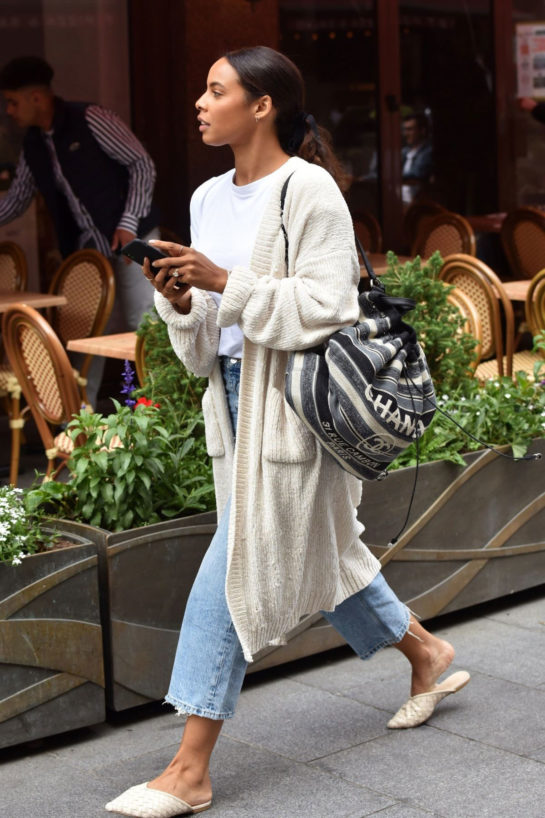 Rochelle Humes Leaves Global Radio in London