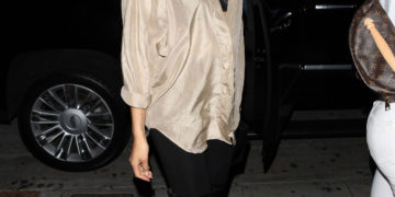 Shanina Shaik Going to the Delilah Club in West Hollywood