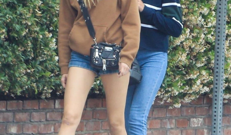 Street Style – Sistine Stallone and Cayley King at Cha Cha Matcha in West Hollywood